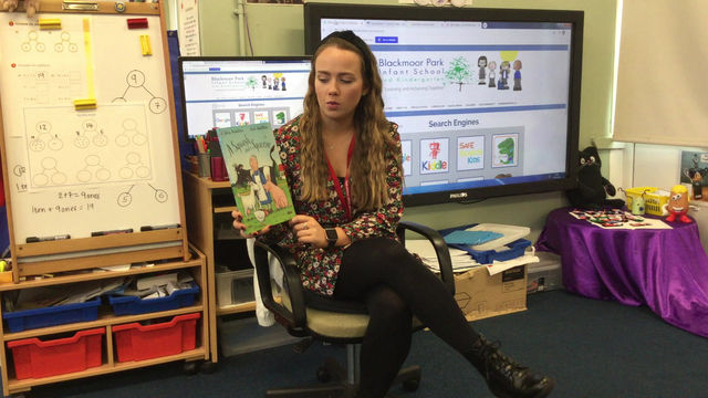 Story time with Miss Skelly