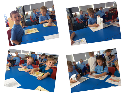 Our first full week in Year one - Beech Class