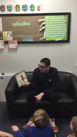 Story Time with Mr Frascina