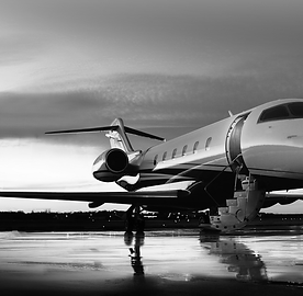 Image of private jet.