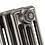 "1.25"" 1.5"" BSP RIGHT HAND THREAD CAST IRON PLUG or Ornate End Cap for Cast Iron Radiators"