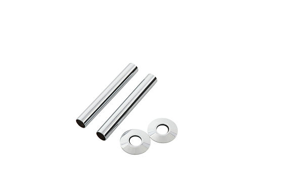 130mm Chrome Pipe Shroud | Arroll
