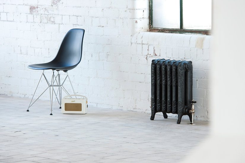 Arroll The Parisian 2 Column cast iron radiator by foundry cast iron