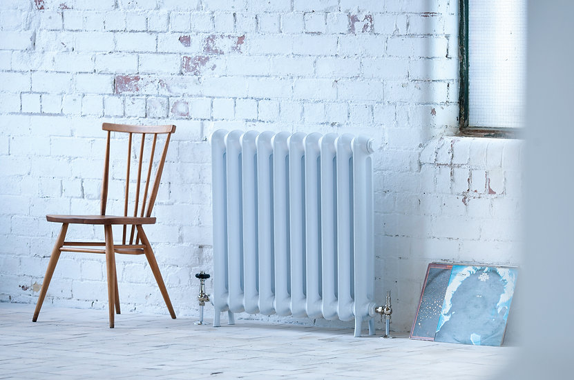 Arroll Peerless Cast Iron Radiator in White from  Foundry Cast Iron Radiators and Baths