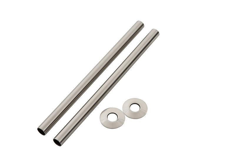 300mm Brushed Nickel Pipe Shroud | Arroll