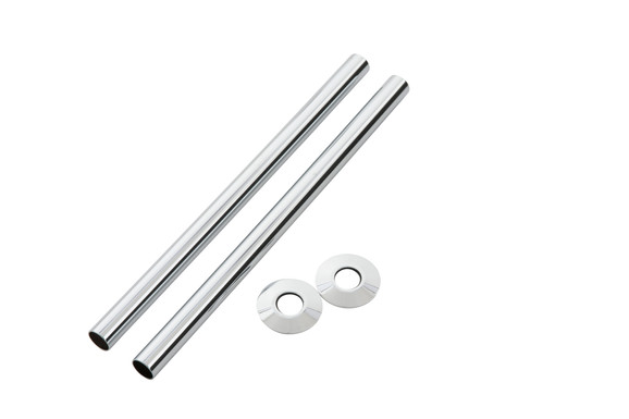 300mm Chrome Pipe Shroud | Arroll