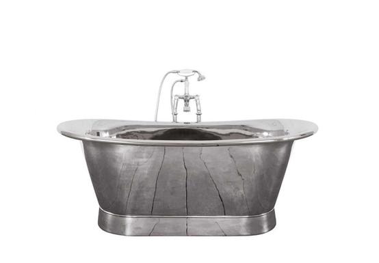 Normandy Copper Bath | Nickel Finish | Jig