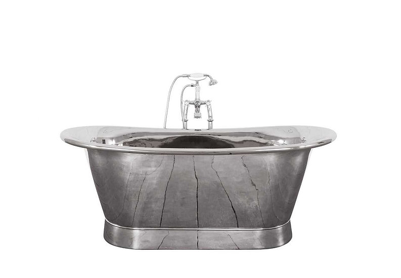 Jig Normandy Copper Bath with Nickel finish