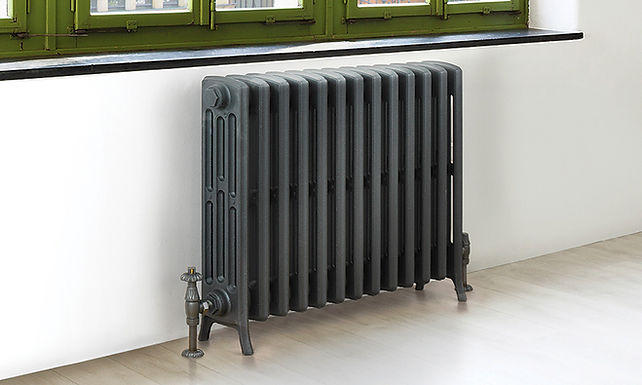 The Steyning 4 Column Cast Iron Radiator | Foundry