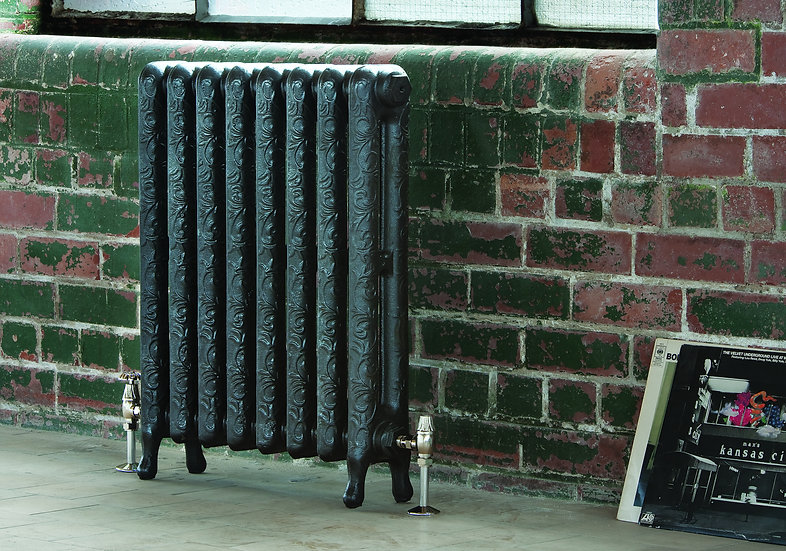 Arroll The Art Nouveau 750 Cast Iron Radiator | Foundry Cast Iron Radiators and Baths