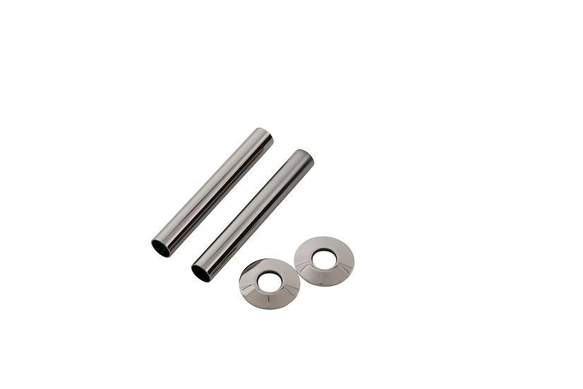 130mm Black Nickel Pipe Shroud | Arroll