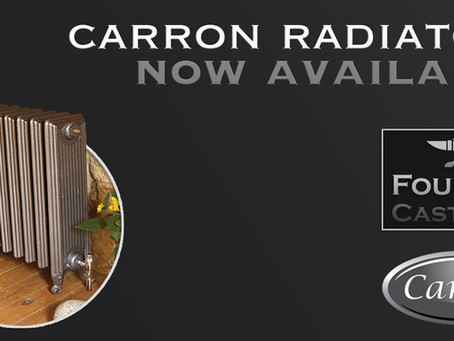 Carron Cast Iron Radiators now available!