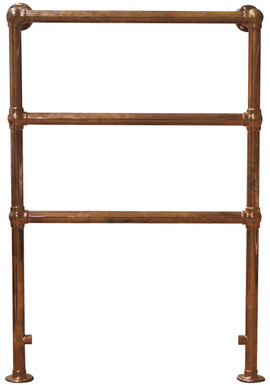 Beckingham Steel 3 Bar Towel Rail in Copper | Carron