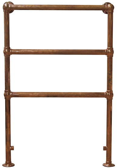 Beckingham Steel Towel Rail in Copper | Carron | Foundry Cast iron