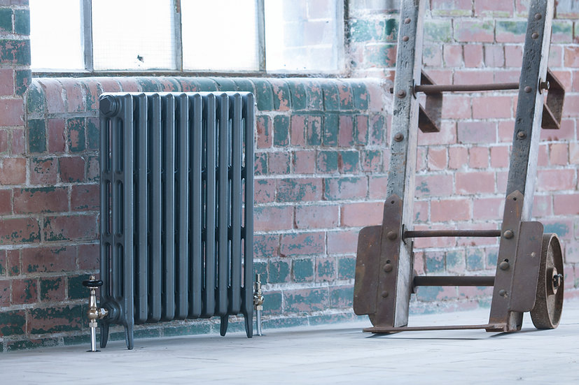 Arroll Radiators Neo-Classic 3 Column Cast Iron Radiator by Foundry Cast Iron