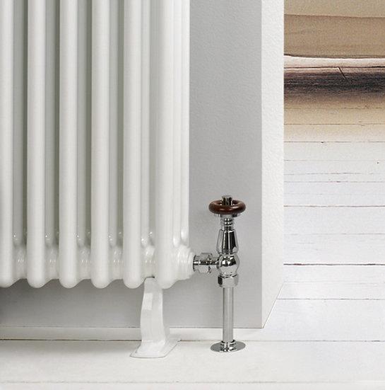 Cast Iron Column Radiator Foot white | Foundry
