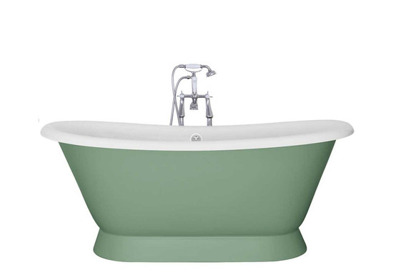 Montreal Cast Iron Bath | Painted | Jig