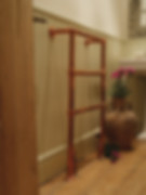 Carron Beckingham Steel Towel Rail in Copper sold by Foundry Cast Iron Radiators and Baths