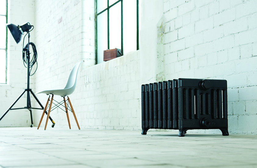 Arroll the Victorian 330mm 9 Column cast iron radiator by foundry cast iron