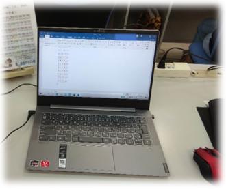 パソコン村 愛野教室 My パソコンで頑張ります!