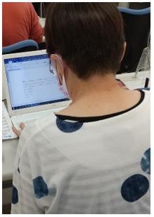 パソコン村 愛野教室 Y様70歳 頑張ります!