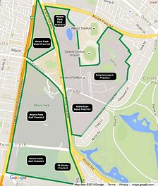 Moore Park Precincts
