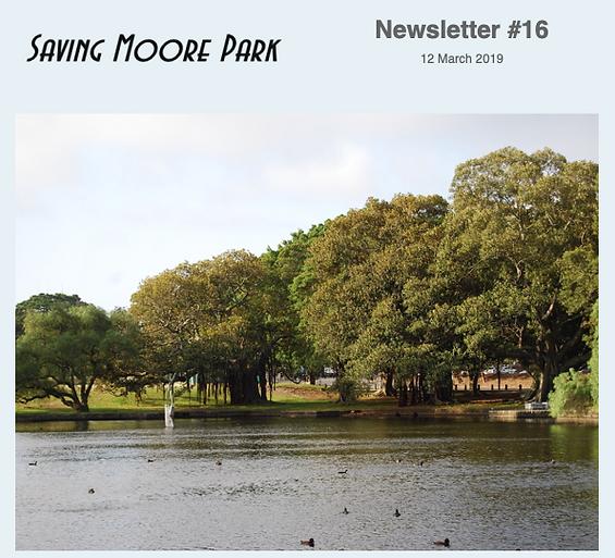 Saving Moore Park
