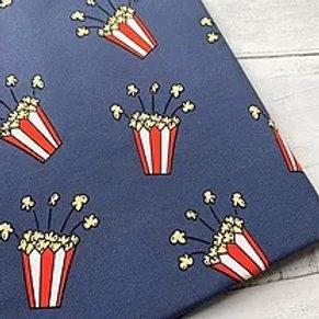 100% Organic Cotton Jersey 'Popcorn'