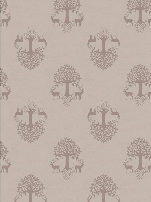 Lewis and Irene - Tree of Life on Linen