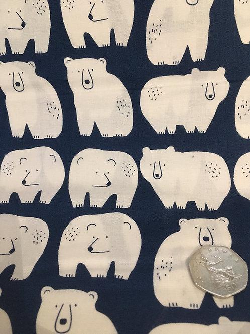 Dashwood Studio 'Laska' Polar Bears on Blue