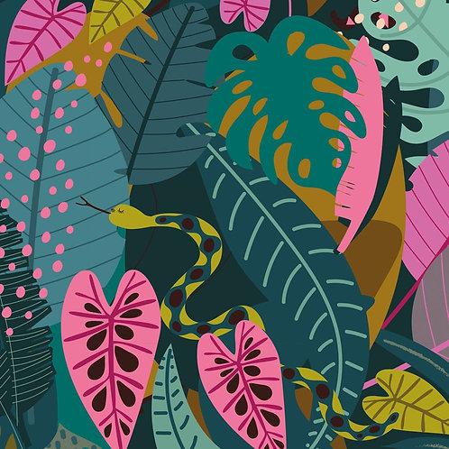 Dashwood Studio 'Night Jungle'Jungle Leaves