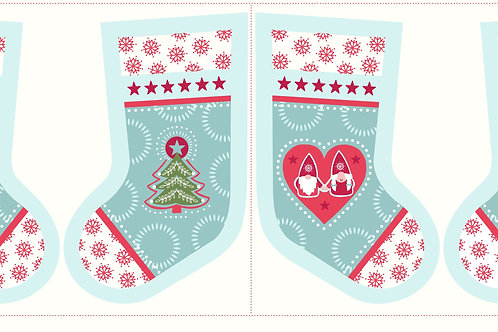 Hygge Christmas Stocking - Icy Blue