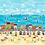 Thumbnail: Makower 'Beside the Sea' Double border