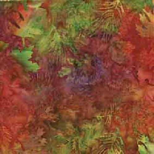 Island Batiks - Autumn Leaves