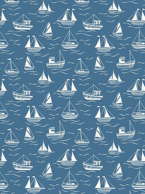 Thalassophile - Boats on Dark Blue