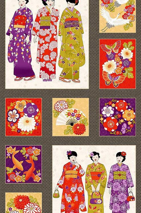 Makower 'Kimono' - Panel