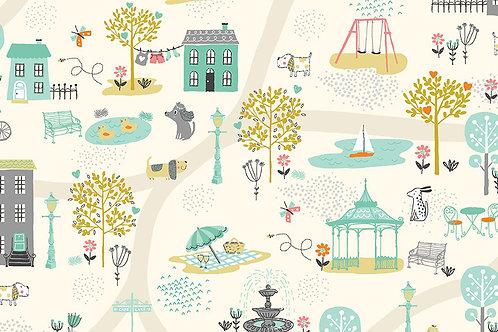 Makower 'A Walk in the Park' Scenic Cream