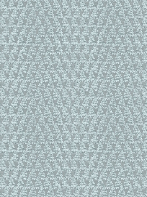 Thalassophile - Shells on Blue Grey