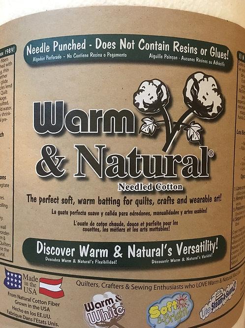 The Warm Company - Warm & Natural batting
