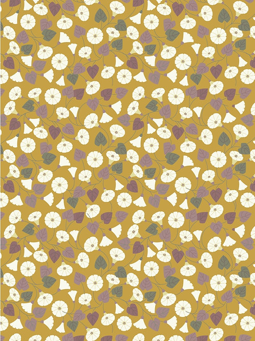 Lewis and Irene - 'The Hedgerow' Granny-pop-out-of-beds Mustard Yellow