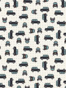 Lewis and Irene -  'City Lights' Black Cab Silver