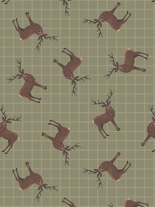 Lewis & Irene - Celtic Coorie -Stag on Country Green