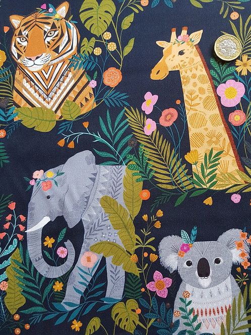 'Our Planet' by Bethan Janine for Dashwood Studios on Navy