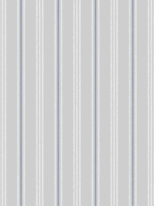 Thalassophile - Coastal Stripe on Light Grey