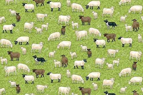 Makower 'Village Life' Sheep