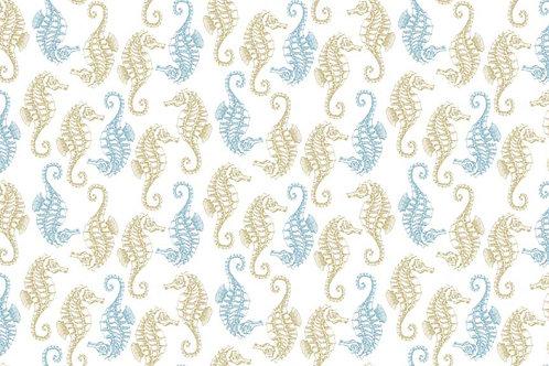 Makower 'Beachcomber' - Seahorses