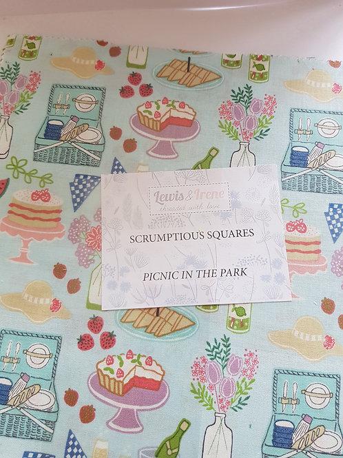 Lewis & Irene - 'Picnic in the Park' Scrumptious Squares