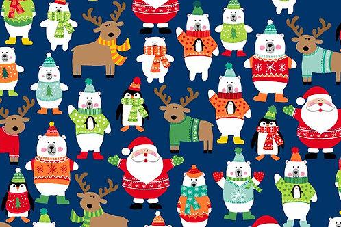 Makower 'Novelty Christmas 2017' Novelty Scatter
