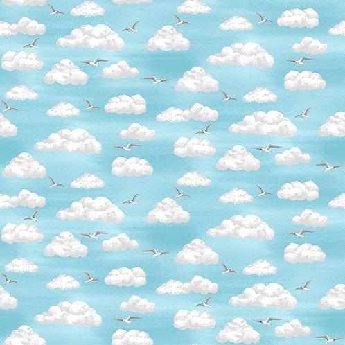 Makower 'Beside the Sea' Clouds