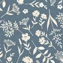 Makower 'Woodland' - Scatter Blue